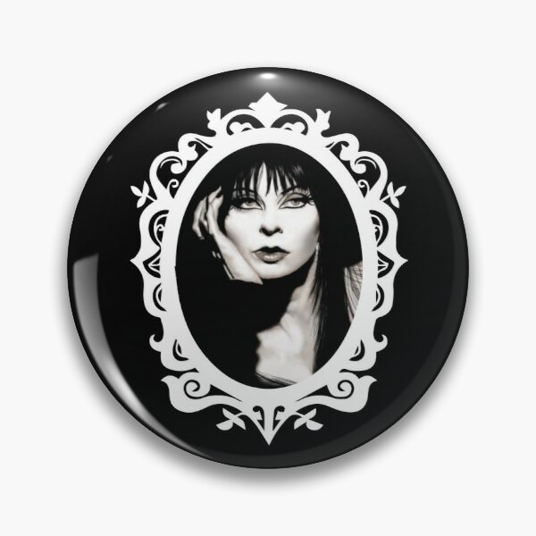 Elvira Cameo Badge