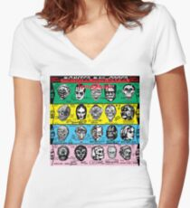 Some Ghouls Women's Fitted V-Neck T-Shirt