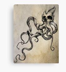 Skulltapus Canvas Print