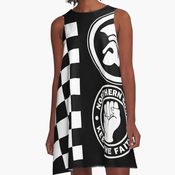 Ska Trojan Northern A-Line Dress