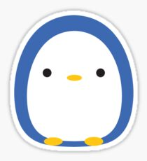 Roly Poly Penguin Sticker