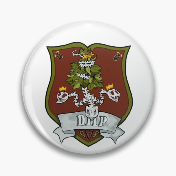Department of Higher Powers Crest Pin