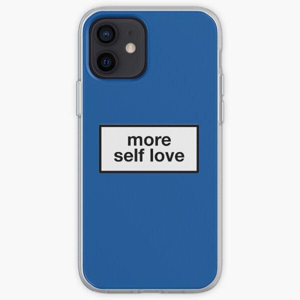 plus d'amour de soi Coque souple iPhone