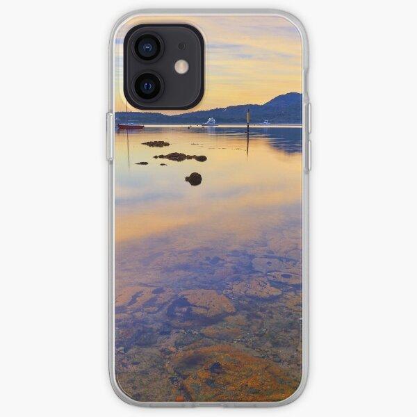Golden Tranquility, Freycinet Tasmania iPhone Soft Case