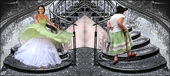 that's life (diptych) by carol brandt