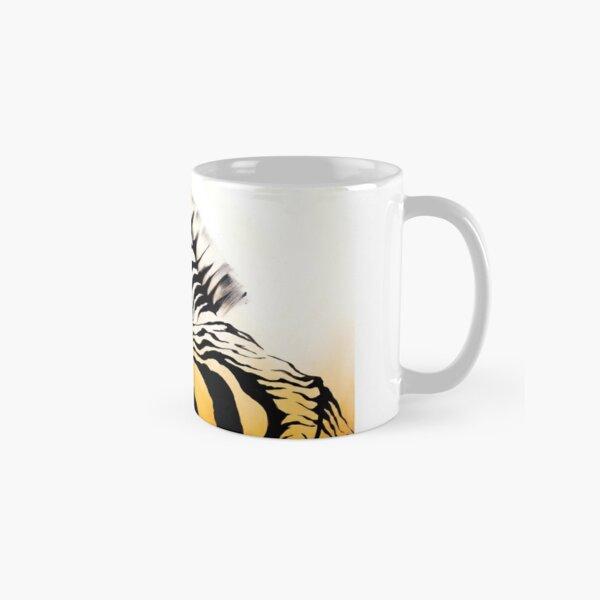 Seated Zebra Classic Mug