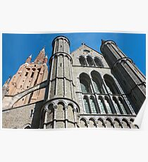 Church of Our Lady Facade Poster