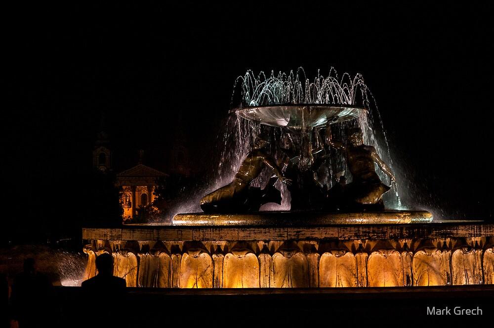 Triton Fountain by Mark Grech