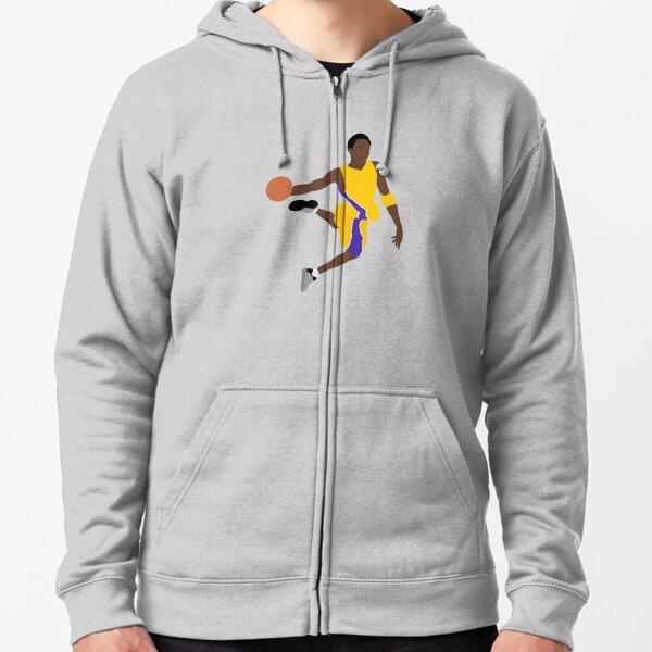 Kobe Bryant - Basketball des Lakers Vintage Veste zippée à capuche