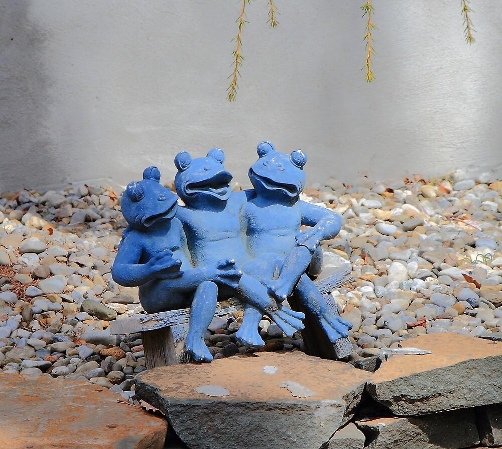 Budweiser Frogs Still Drunk  by pmarella