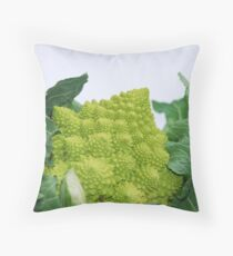 Romanesco Cauliflower Throw Pillow