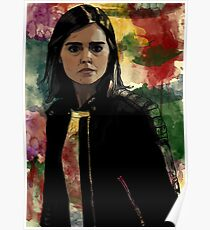 Clara Oswald The Impossible Girl Poster