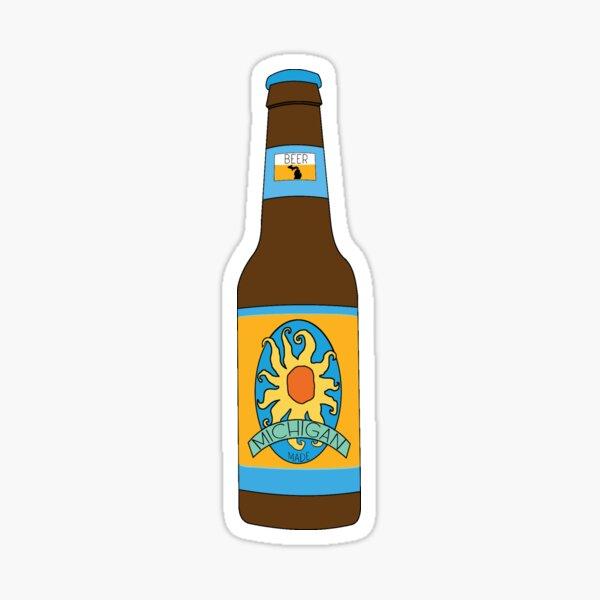 Oberon Inspired Michigan Beer Sticker