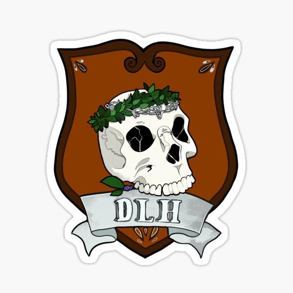 Department of Lost Histories Crest Sticker