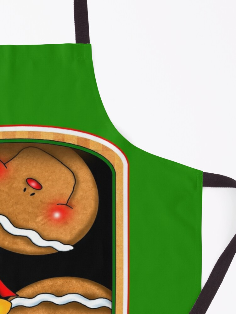 Alternate view of Holiday Gingerbread and Spice Apron