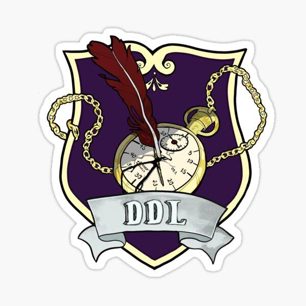 Department of Dead Languages Crest Sticker