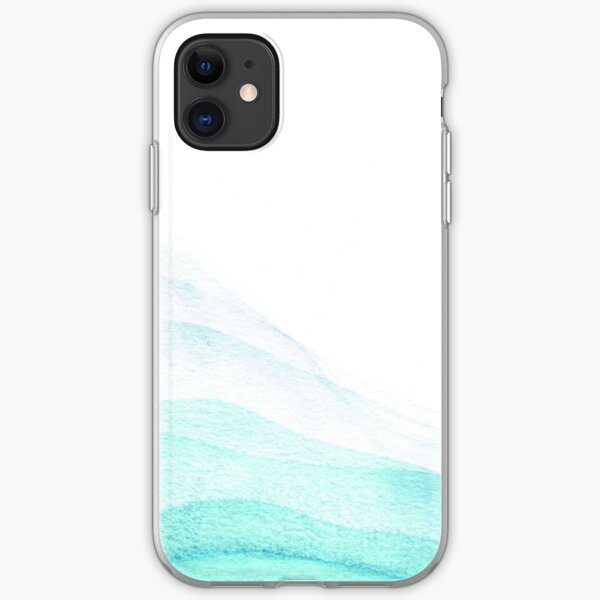 Waves  iPhone Soft Case