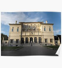 Villa Borghese in Rome Poster