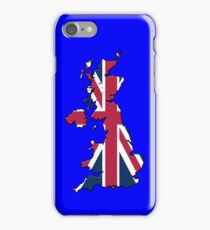 Smartphone Case - Cool Britannia - Blue Background iPhone Case/Skin