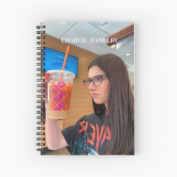 Charlie Damelio Drink Cahier à spirale