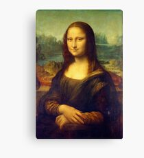 Mona Lisa by Leonardo da Vinci Canvas Print