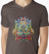 Vipassana - 2012 - Buddha on chair as Tshirt Men's V-Neck T-Shirt