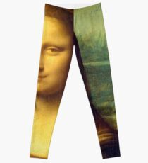 Mona Lisa by Leonardo da Vinci Leggings