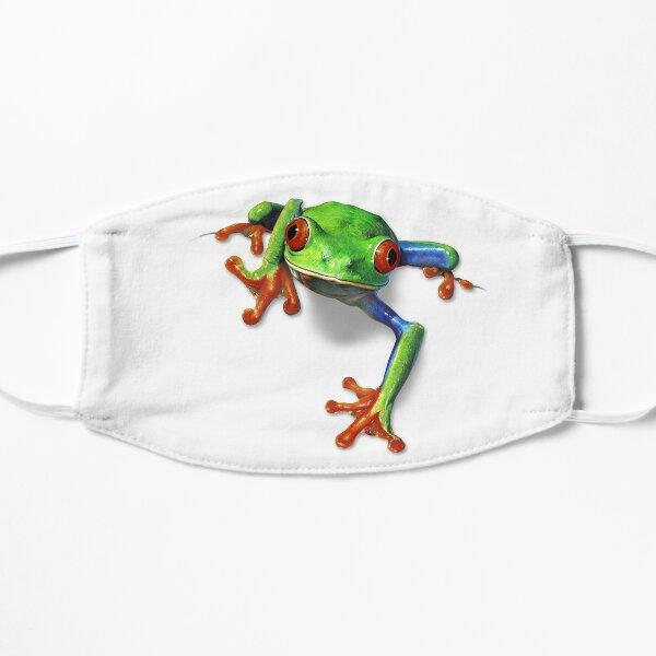 Tree Frog Portrait Flat Mask