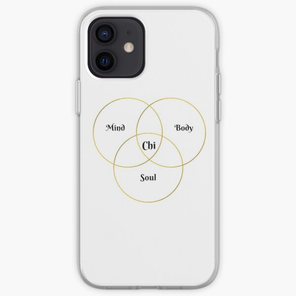Mind, Body, Soul, Chi Holistic Health iPhone Soft Case
