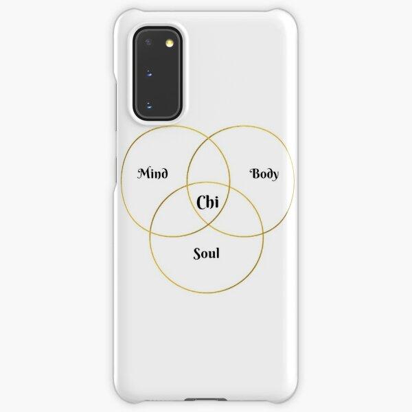 Mind, Body, Soul, Chi Holistic Health Samsung Galaxy Snap Case