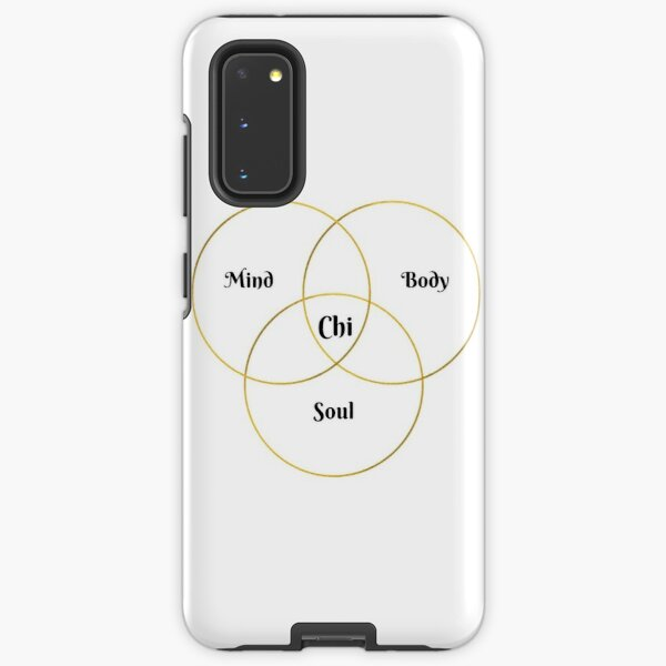 Mind, Body, Soul, Chi Holistic Health Samsung Galaxy Tough Case