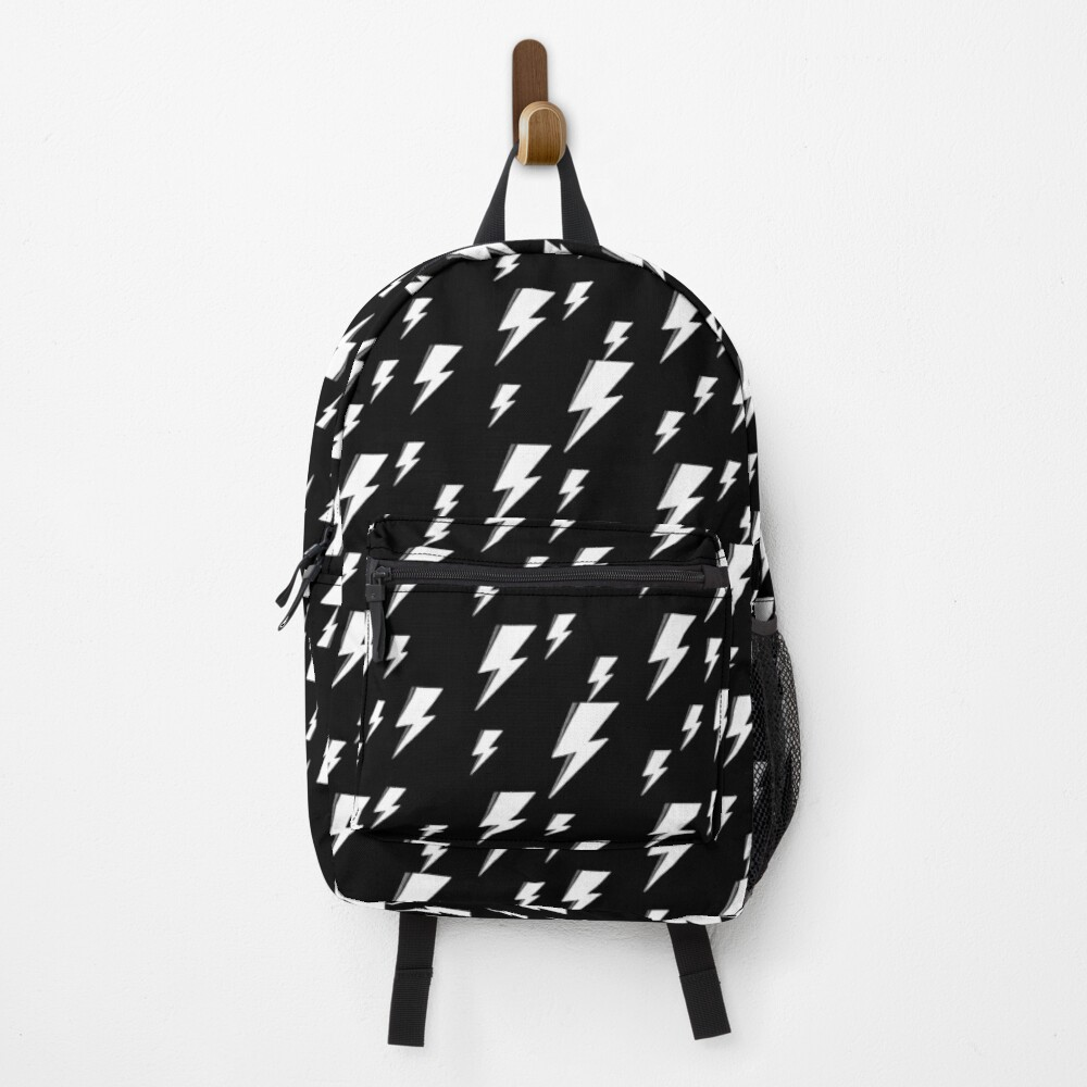 White Bowie Lightning Backpack