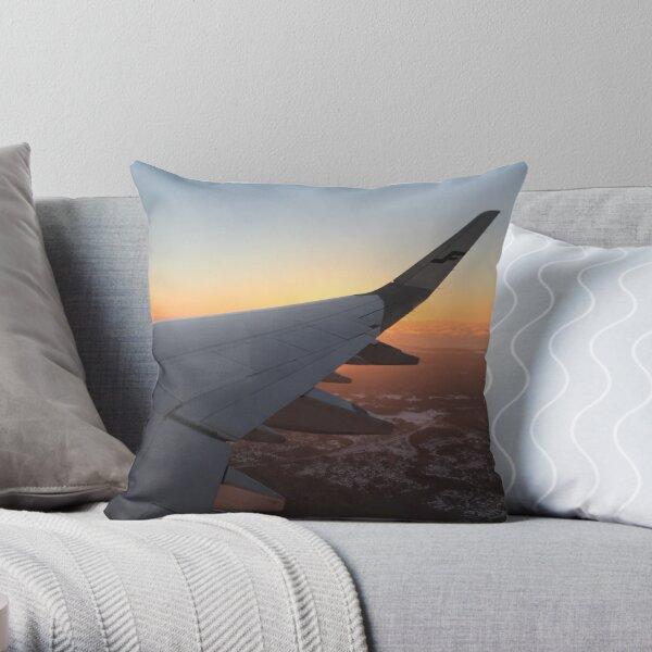 Wing 1 Throw Pillow