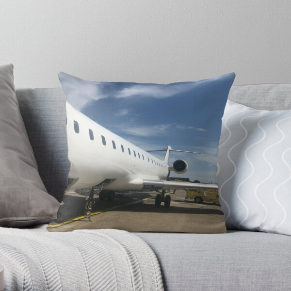 CRJ900 Throw Pillow