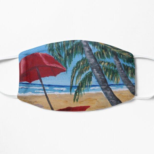 Beach Vacay Flat Mask