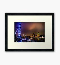Westminster & Eye Framed Print
