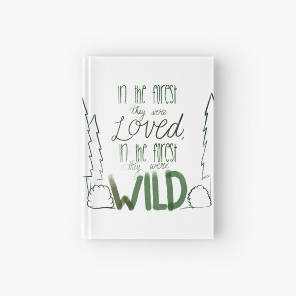In the Forest Hardcover Journal
