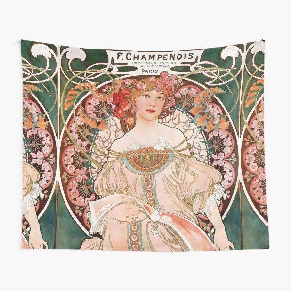 F. Champenois Imprimeur-Éditeur,1897,Alphonse Mucha,art nouveau Tapestry