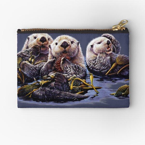 Sea Otter Trio Zipper Pouch