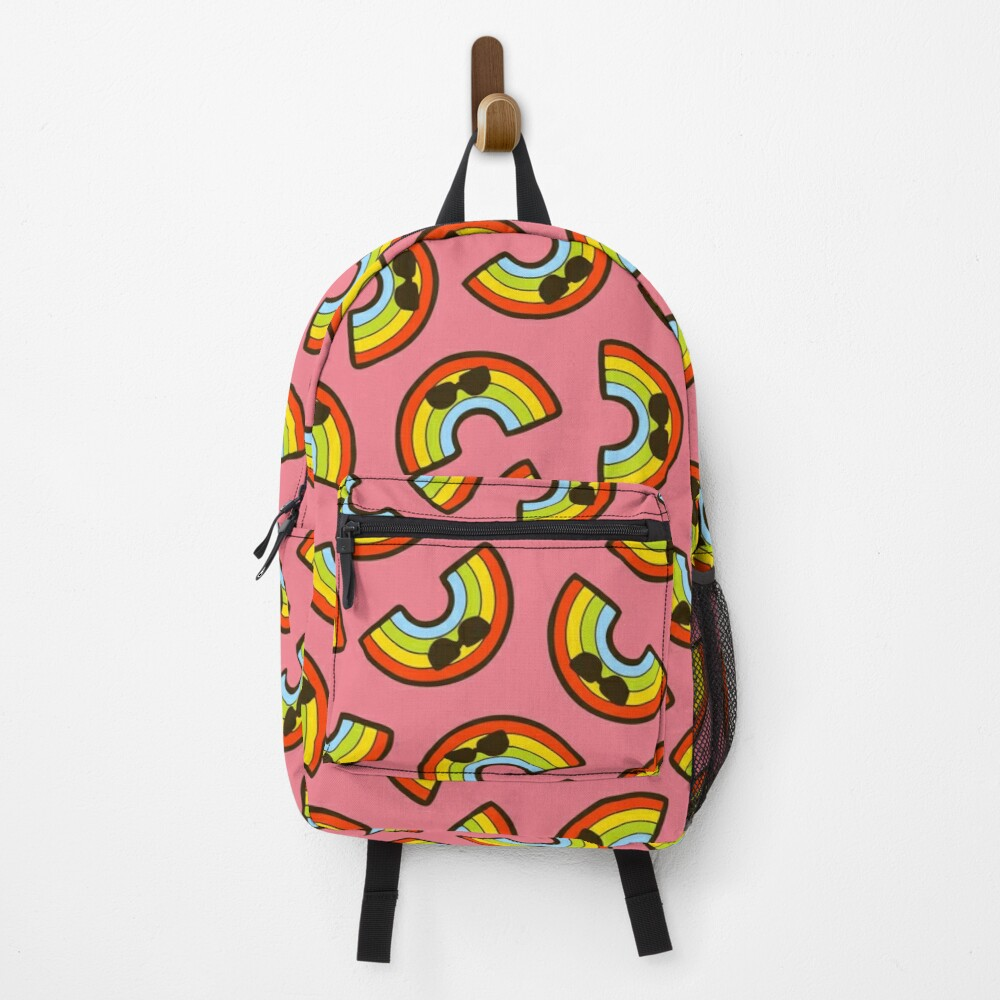 Cool Rainbow Pattern Backpack