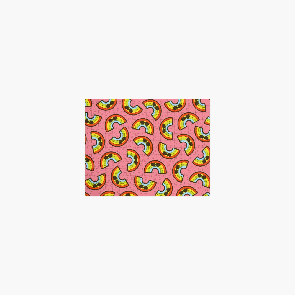 Cool Rainbow Pattern Jigsaw Puzzle