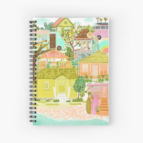 Living Aloha Spiral Notebook