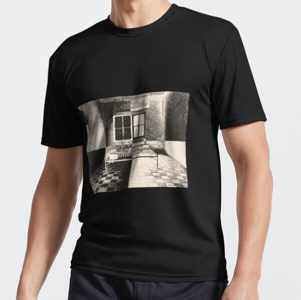 CAMBODIAN JAIL CELL, DAY & NIGHT Active T-Shirt