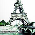Eiffel Tower II by Talia Felix
