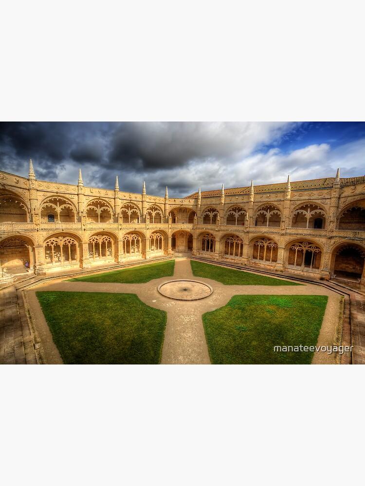 Monastery dos Jeronimos Cloisters by manateevoyager