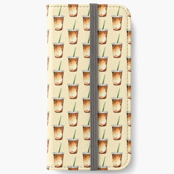 iced coffee iPhone Wallet