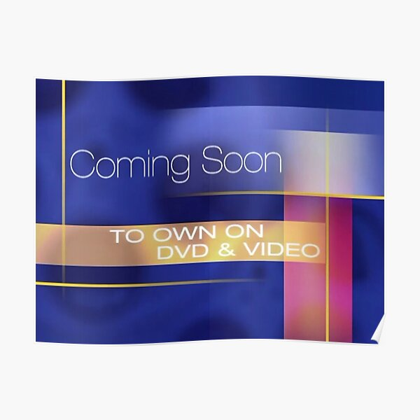 Coming Soon to Own on DVD & Video Poster