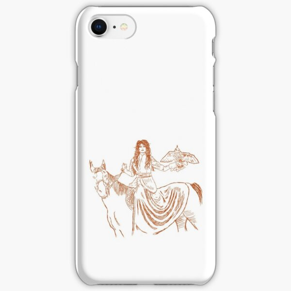 Falcon trainer horse woman iPhone Snap Case