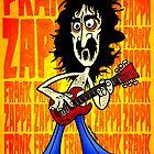 Frank Zappa Caricature by MattHercock1