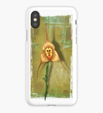 Monkey Face Orchid iPhone Case/Skin